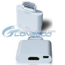 HDMI Connectors for ipad/ipad 2 /iphone 4/ipod