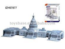 United States Capitol, 3d puzzle eps foam