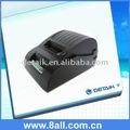 Moda 58mm pos térmica impresora de recibos; cocina de la impresora