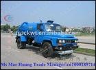 vacuum tank suction tanker truck