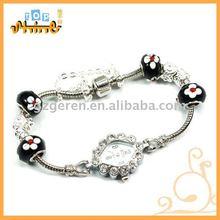 Fancy Black Beads Wrist Lady Watch _ 030582