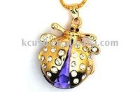 Jewelry Ladybug Gift USB Flash Drive
