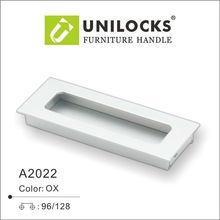 Aluminium Hidden Kitchen Cabinet Handle Knobs for Kitchen Cabinet