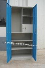 Multi-functional metallic cabinet with secret drawer