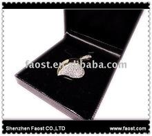 diamond heart necklace usb flash