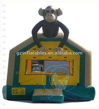 2011 {Qi Ling} Monkey inflatable animal cartoon