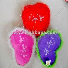 Plush heart pillow & heart gifts&Valentine 's pillow