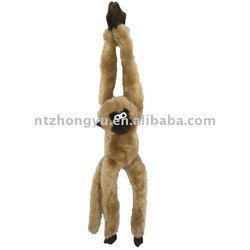 """Squeaky Long Limbs Plush Monkey 23"""",pet toy for dog"""