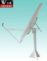 ku band 150cm offset satellite dish