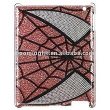 For ipad 2 Stylish Rhombic Pattern Swaroski Hard Case for iPad 2