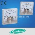 لوحة 91c4 مترالصين ac/العاصمة مقياس التيار الكهربائي/45*45mm الفولتميتر