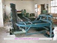 Used tire processing machine