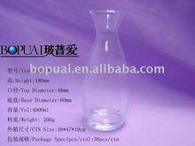 art glass wine decanter