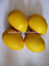 Artificial Lemon Plastic Decorative Fruit Citrus Lemon