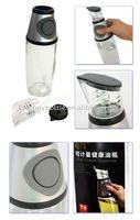 clear measurable sauce oil bottle 500ml