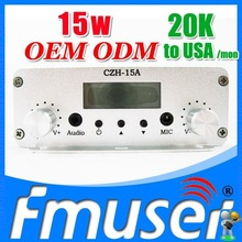 FSN015 CZH-15A 15w fm transmitter 5.8g transmitter Sky