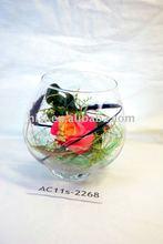 handblown clear antique murano glass vase wholesale cheap