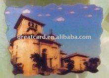 beautiful 3d lenticular castle landscape for collection