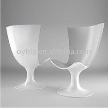 2012 fiberglass modern chair