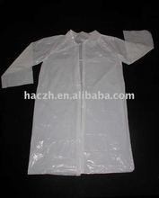 one time polypropylene visitor coat