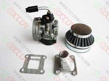 Pocket Bike Engine Parts / carb/air filter/intake.set