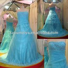 New sparkle Strapless prom dress NEL001