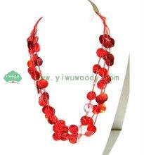 handmade coconut jewelry fashion necklace 2011