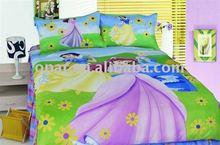 Pannel printing baby bedding set/comforter