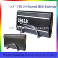 Pulgadas 3.5 usb3.0 aluminio externas de disco duro hdd recinto caso
