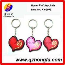 PVC light up/mobile phone key chain