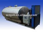 Autocontrol milk cooling tank with Daikin refrigeration compressor