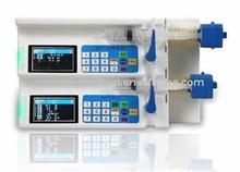 5cm, 10cm, 20cm, 30cm, 50ml Double-channels Medical Syringe Pump MC-SP05III from Guangzhou