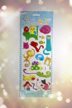 2011 high quality 3d stickers for scrapbooking