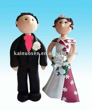 polyresin wedding figurine for cake top