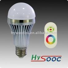 Remote Control led rgb bulb Light Color Change Bulb 3W E27 with CE