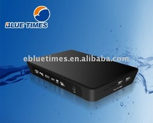Blue Times Portable Realtek 1055 Full HD High Definition HDD Media Player,OEM your brand