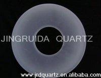 Translucent Thick Wall Quartz Glass Tube