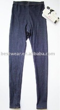 10pcs/lot 2012 new style dark blue cotton women's jean leggings,tight pants,basic leggingQ0008