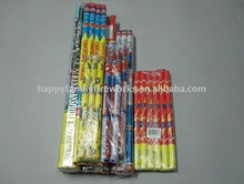 Fireworks/Roman Candle/Wedding/Red/Green/Crackling/Report