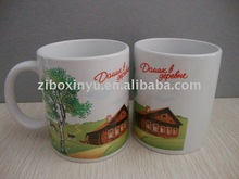 Beautiful coffee mug with full printing,ceramic mug