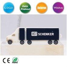 OEM promotion PVC truck shape 2GB 4GB USB drive