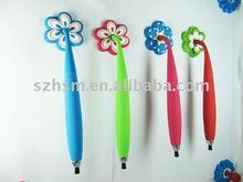 pen whit flower