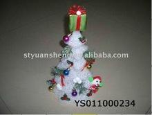 EVA Snowing christmas tree with flash light& sonwman