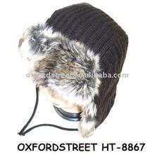 earflaps, winter hat,trapper hat HT-8867