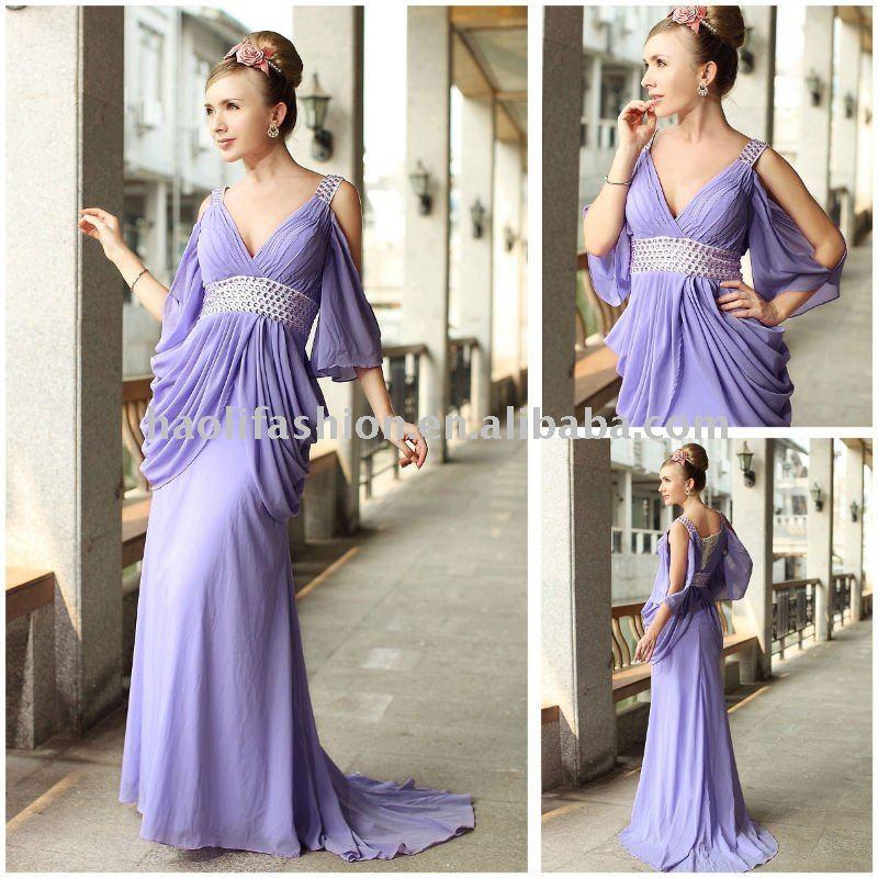 retail satin short sleeve purple long sleeve lace wedding dresses