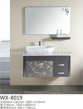 Beautiful And Modern Vanity Unit With White Artificial Countertop