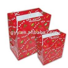 2012 Christmas paper packaging bag