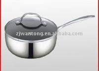 2015new Full polishing Saucepan,skillet,Aluminum Non-stick coating
