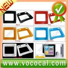 Silicone Soft Case Cover for Apple iPod Nano 6 6th Gen