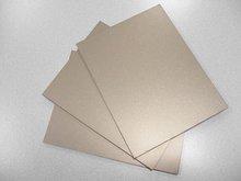 silver brushed aluminum plastic composite panel specification